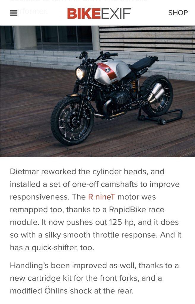 BMW Scramblert Concept Bike