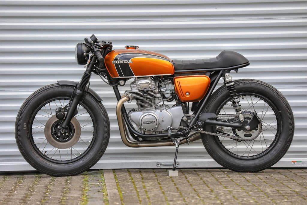 Honda Café Racer by Sport-Evolution Motorcycles