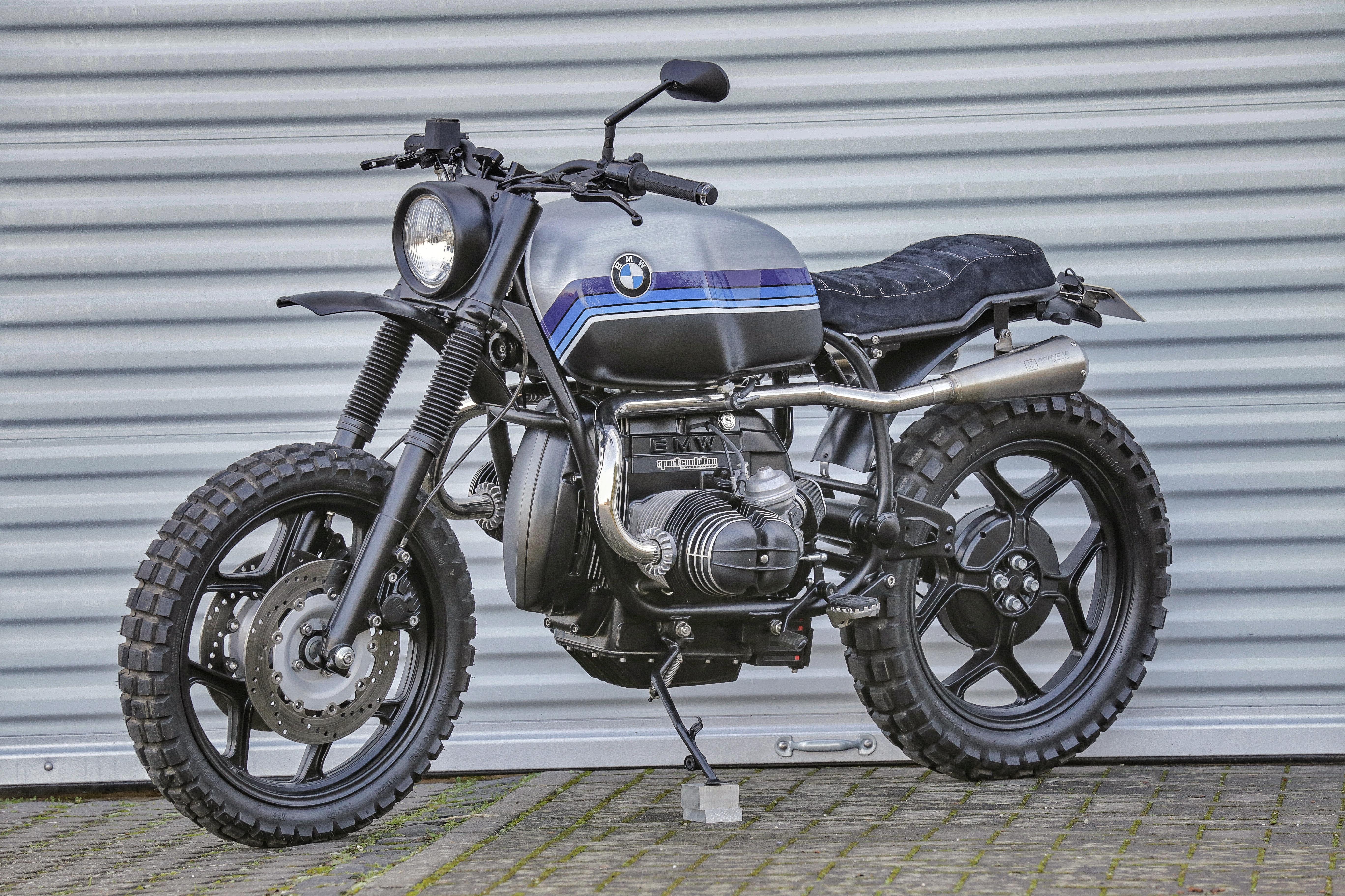 BMW Scrambler Concept Bike