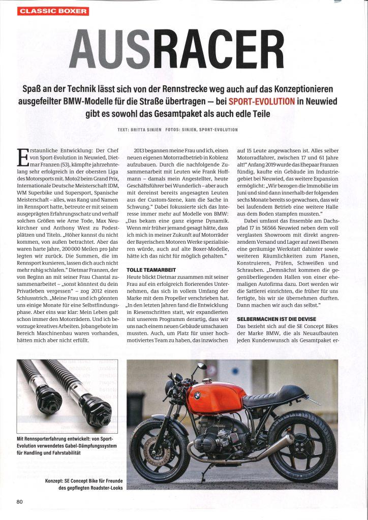 BMW Sport-Evolution FRANZEN